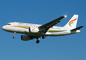 Airbus A319 Tibet Airlines